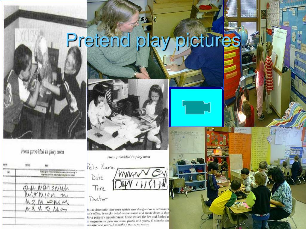 Pretend play pictures