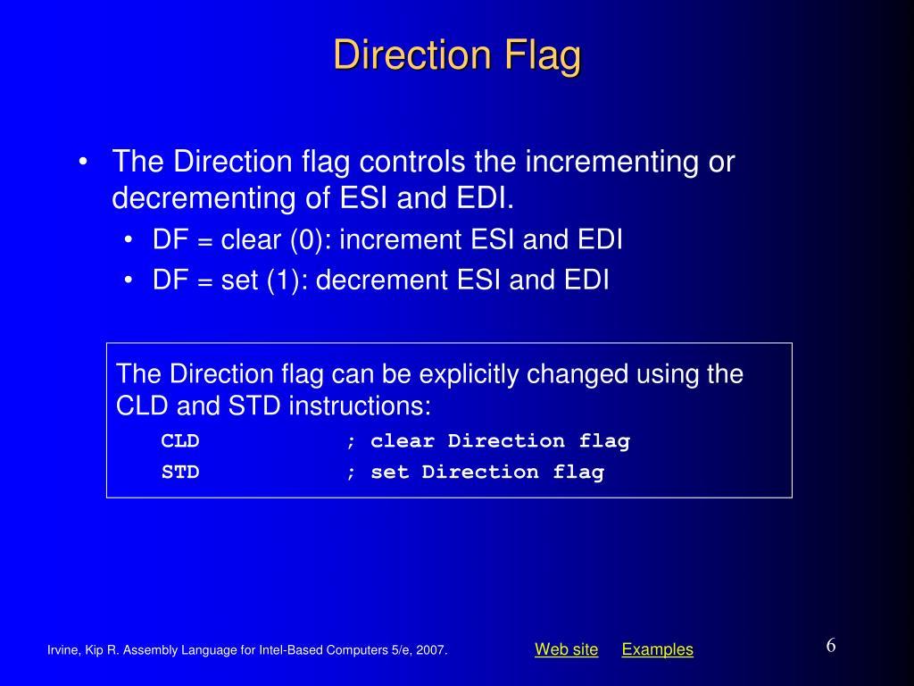 Direction Flag