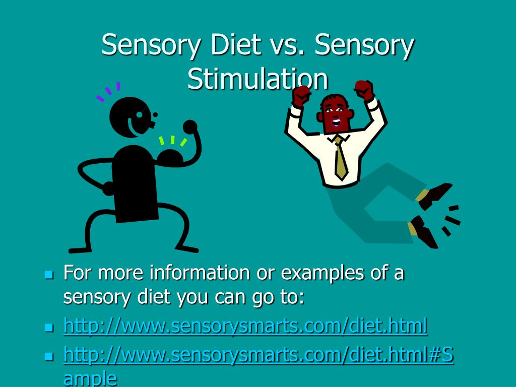 Sensory Diet vs. Sensory Stimulation