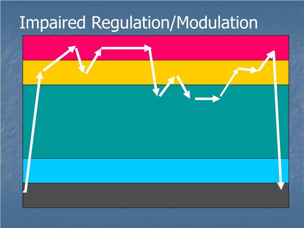Impaired Regulation/Modulation