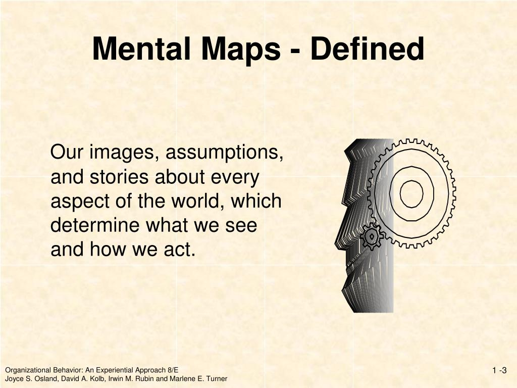 Mental Maps - Defined