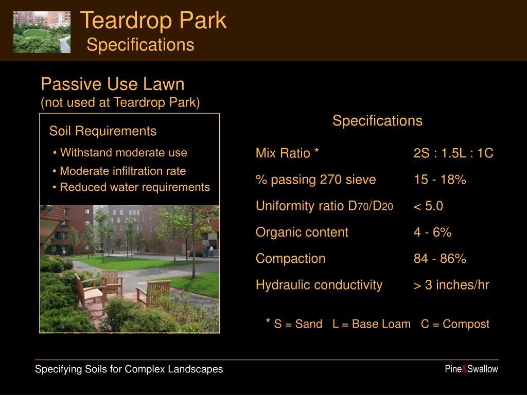 Teardrop Park