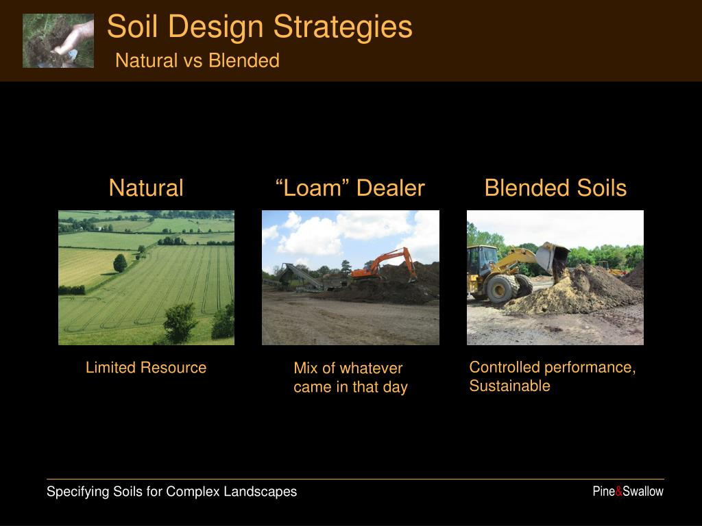 Soil Design Strategies