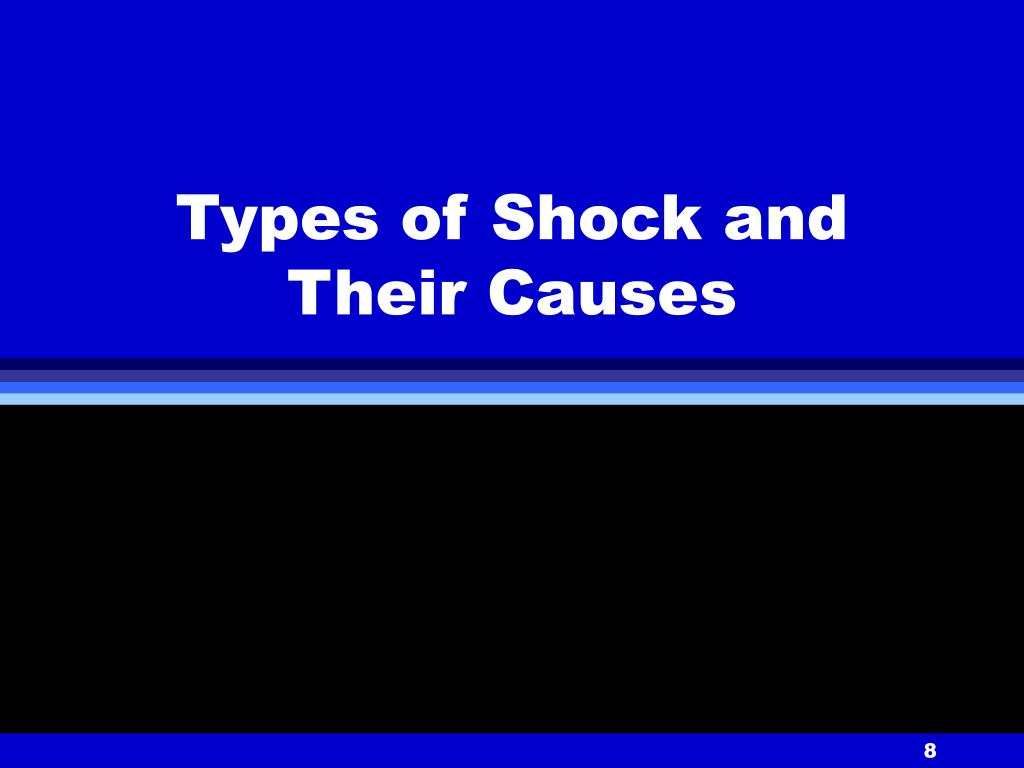 Types of Shock and Their Causes