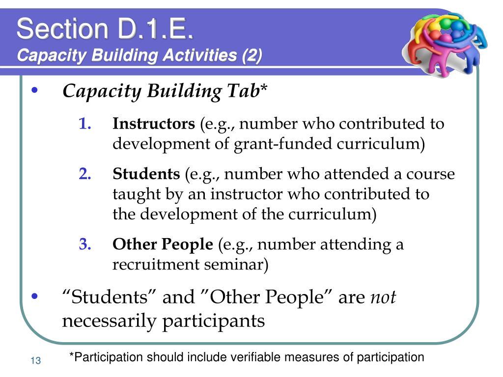 Section D.1.E.