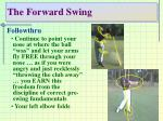 the forward swing44