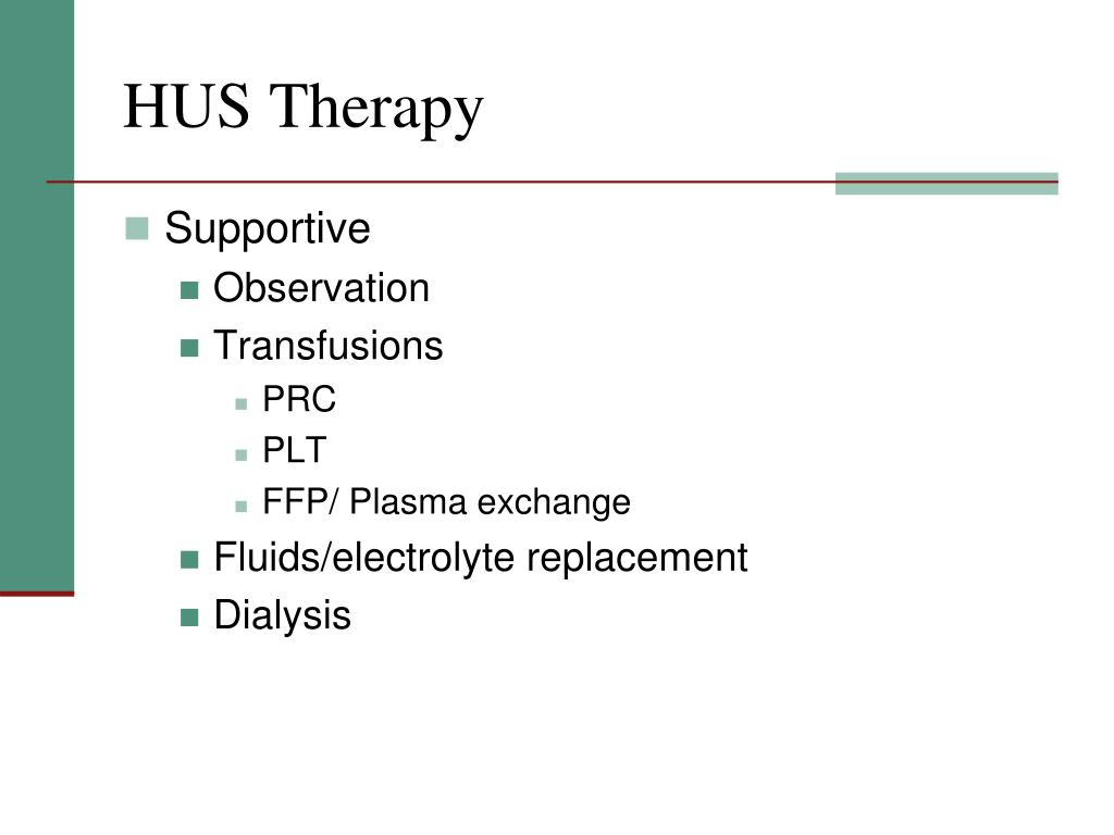 HUS Therapy