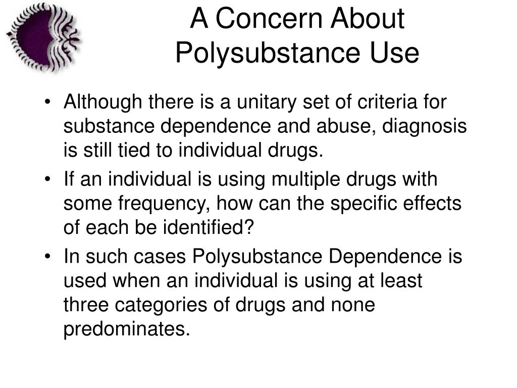 A Concern About Polysubstance Use