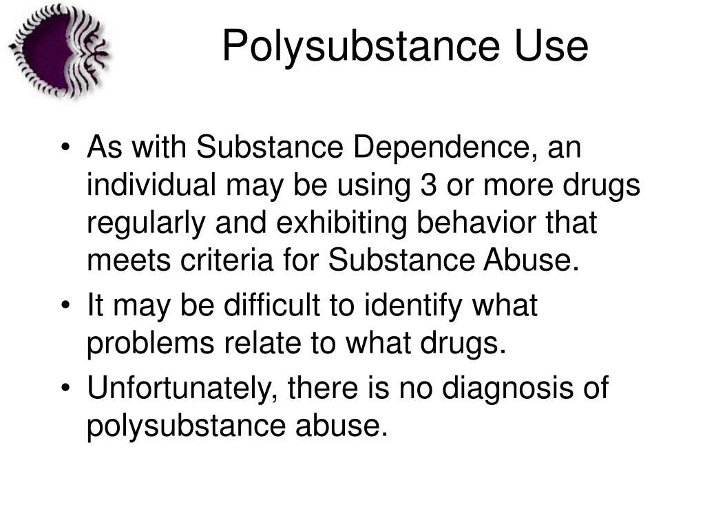 Polysubstance Use