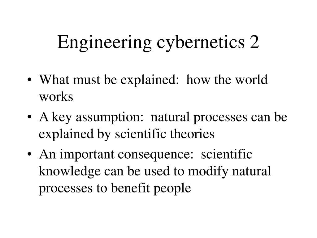 Engineering cybernetics 2