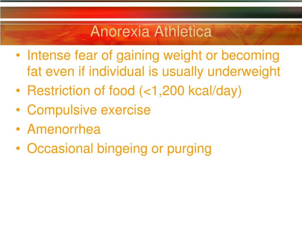 Anorexia Athletica