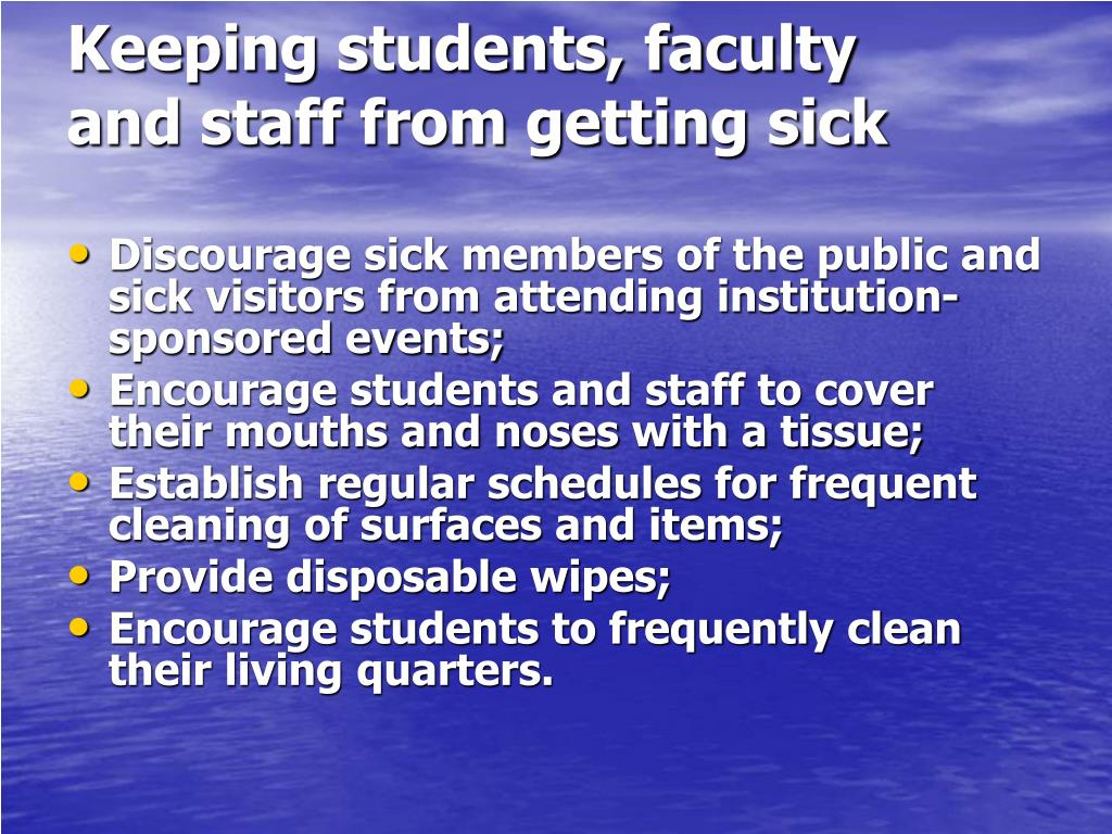 Keeping students, faculty