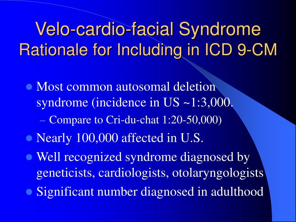 Velo-cardio-facial Syndrome