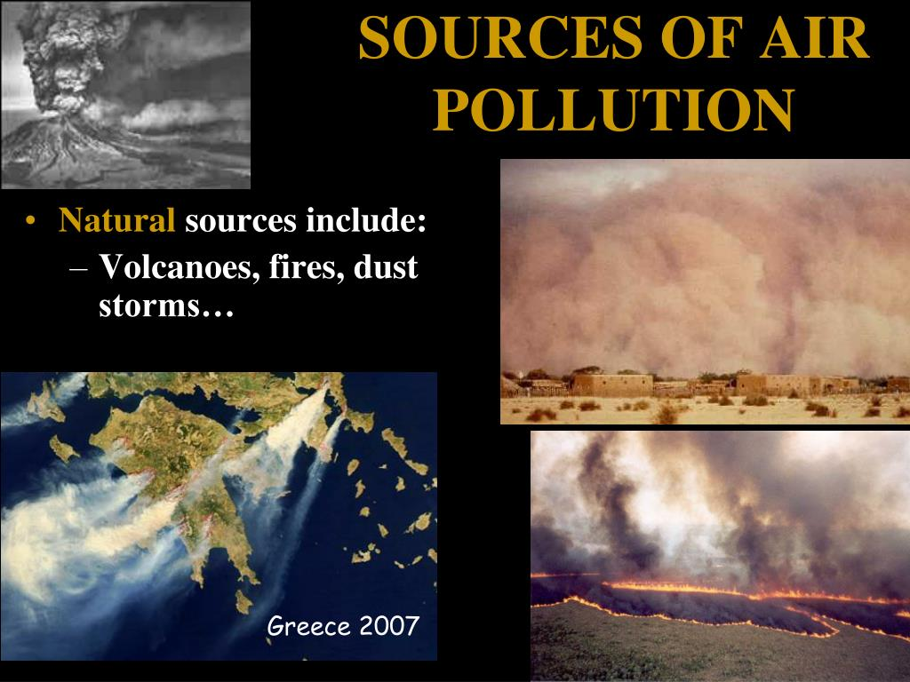 air pollution anthropogenic and natural sources 2011-3-7  anthropogenic sources of air pollutants part 1:  chair for atmospheric chemistry and air pollution control  anthropogenic so 2 natural reduced sulphur.
