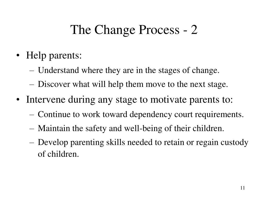The Change Process - 2