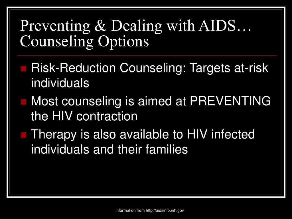 Preventing & Dealing with AIDS…