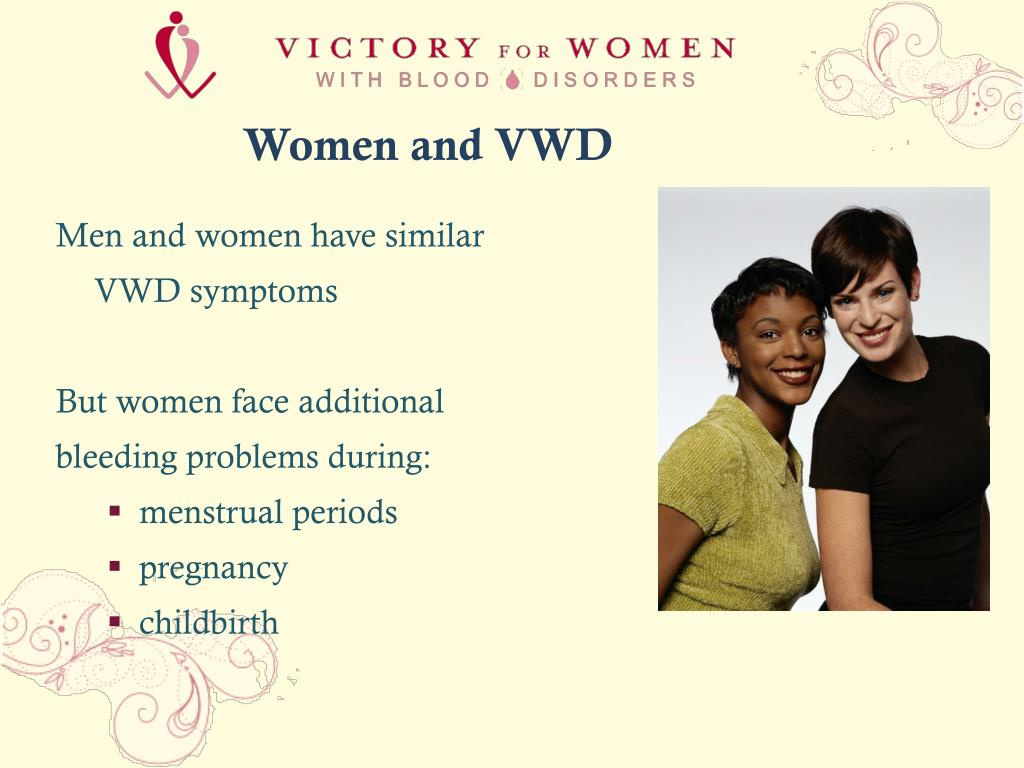 Women and VWD