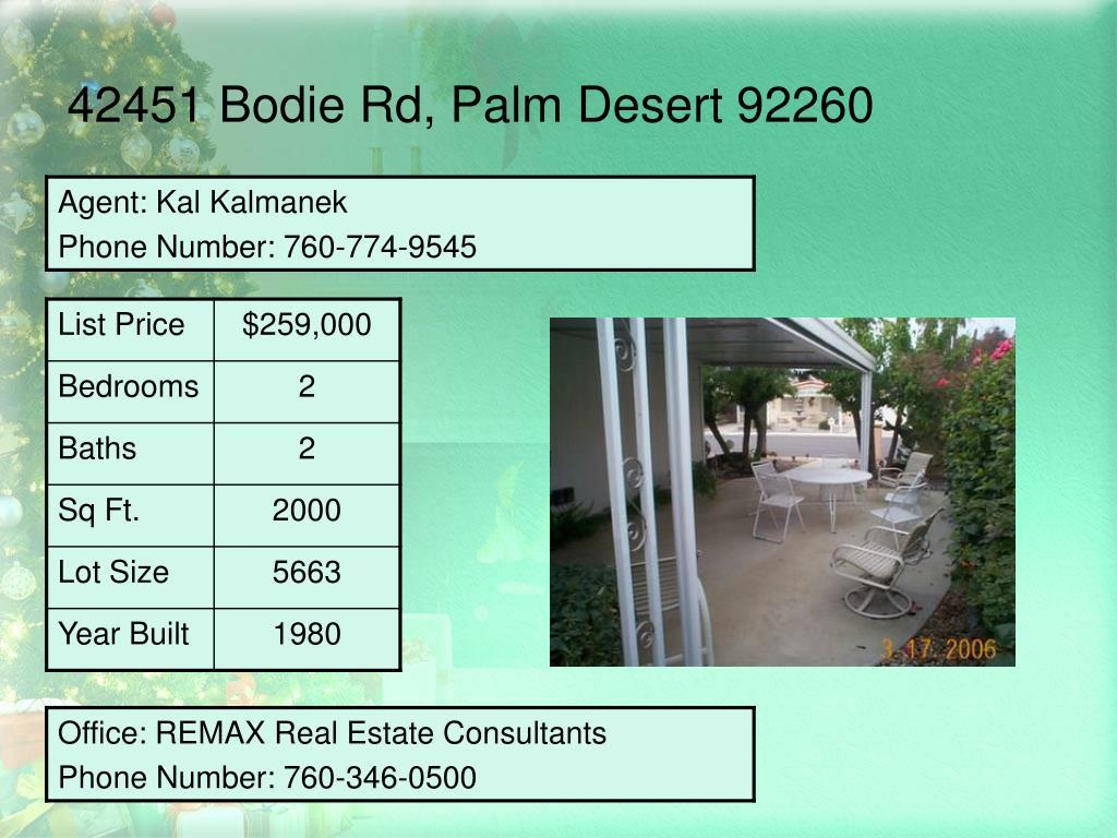 42451 Bodie Rd, Palm Desert 92260