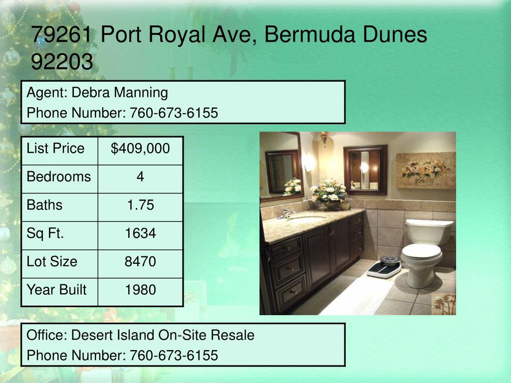 79261 Port Royal Ave, Bermuda Dunes 92203