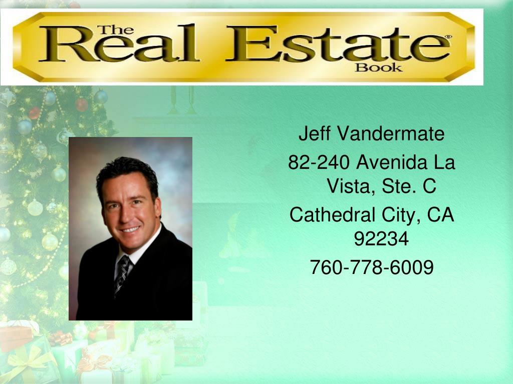 Jeff Vandermate