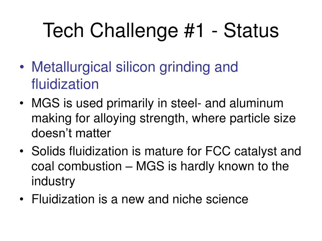 Tech Challenge #1 - Status