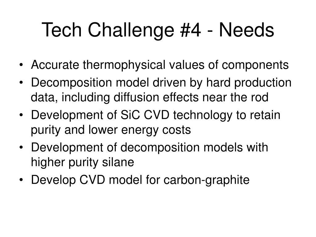 Tech Challenge #4 - Needs