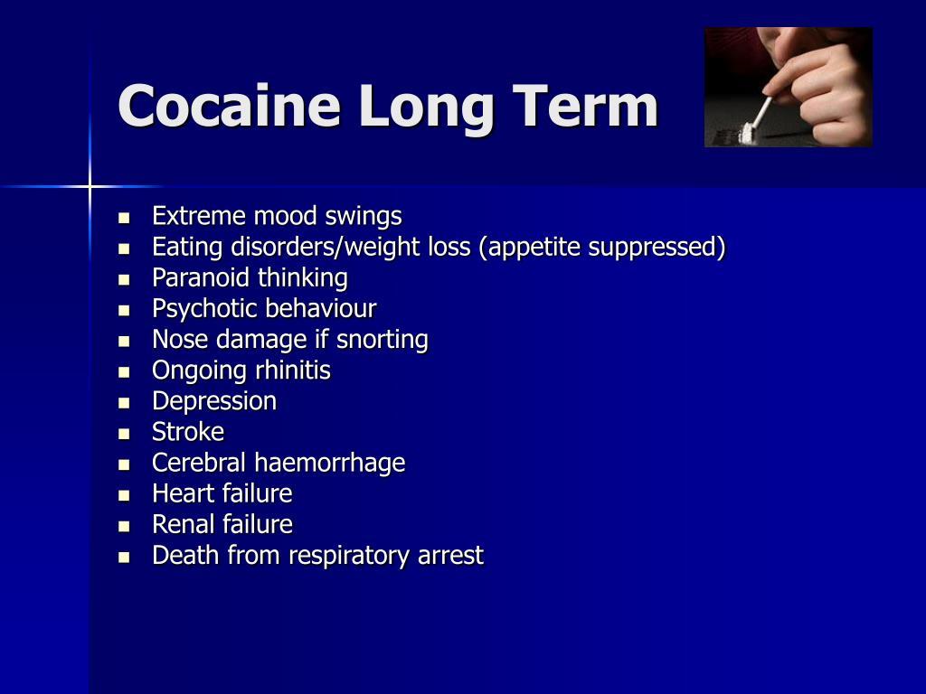 Cocaine Long Term