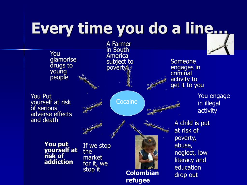 Every time you do a line…