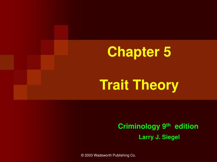 Chapter 5 trait theory l.jpg