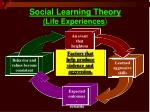 social learning theory life experiences