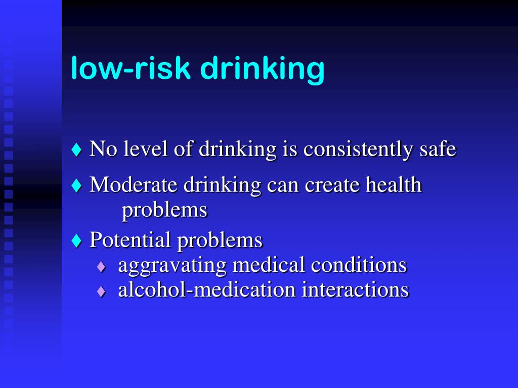 low-risk drinking
