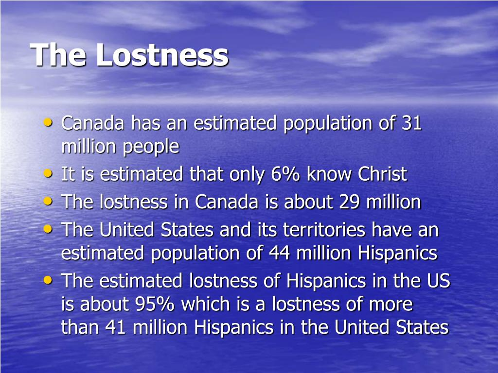 The Lostness