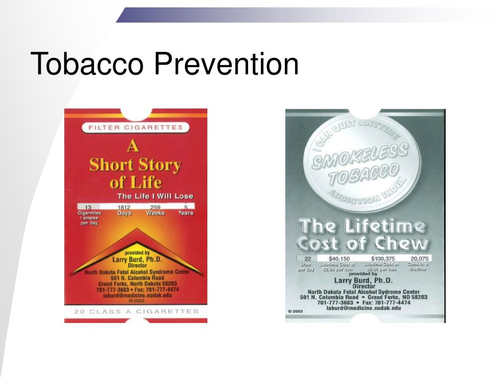 Tobacco Prevention