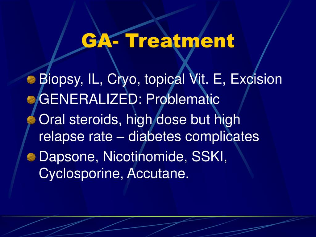 GA- Treatment