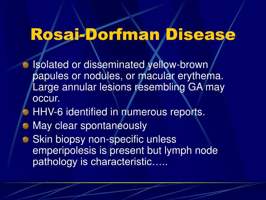 Rosai-Dorfman Disease