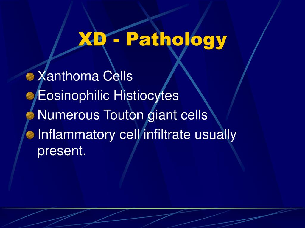 XD - Pathology