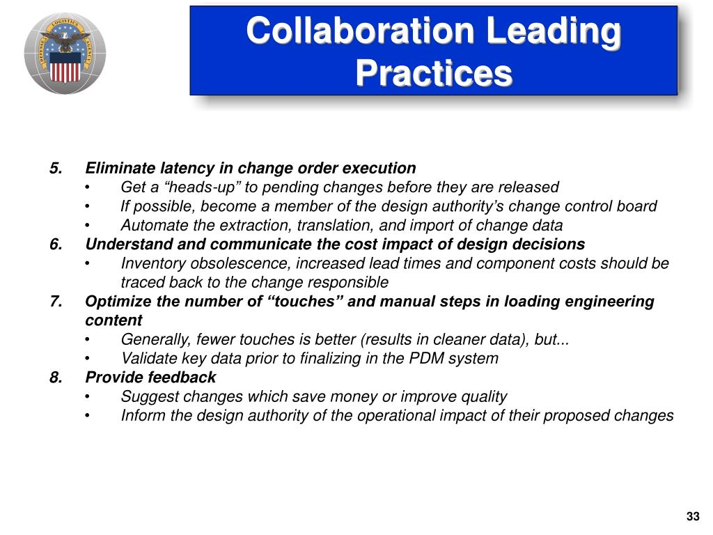 Collaboration Leading Practices