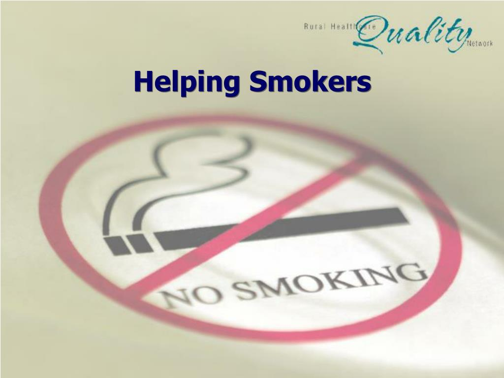 Helping Smokers
