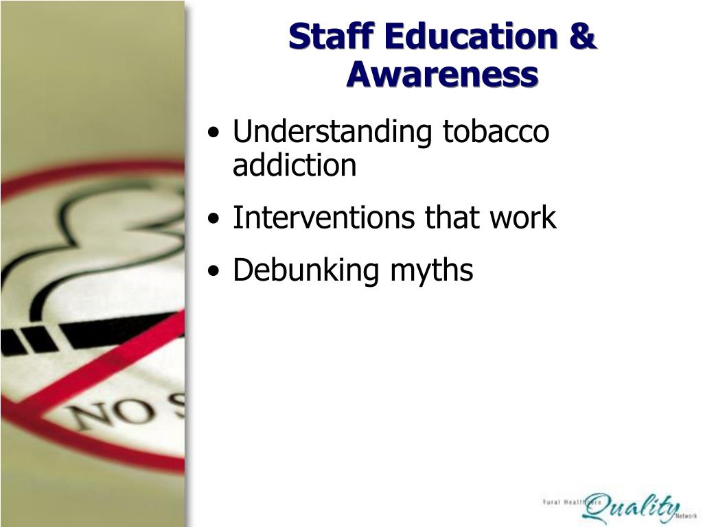 Staff Education & Awareness