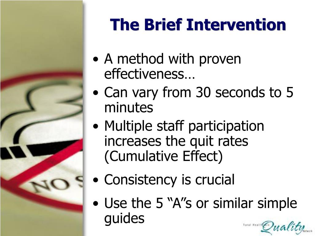 The Brief Intervention