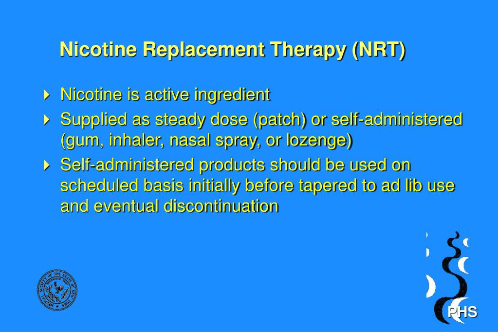 Nicotine Replacement Therapy (NRT)