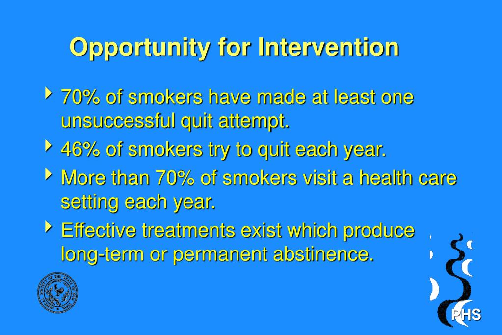 Opportunity for Intervention