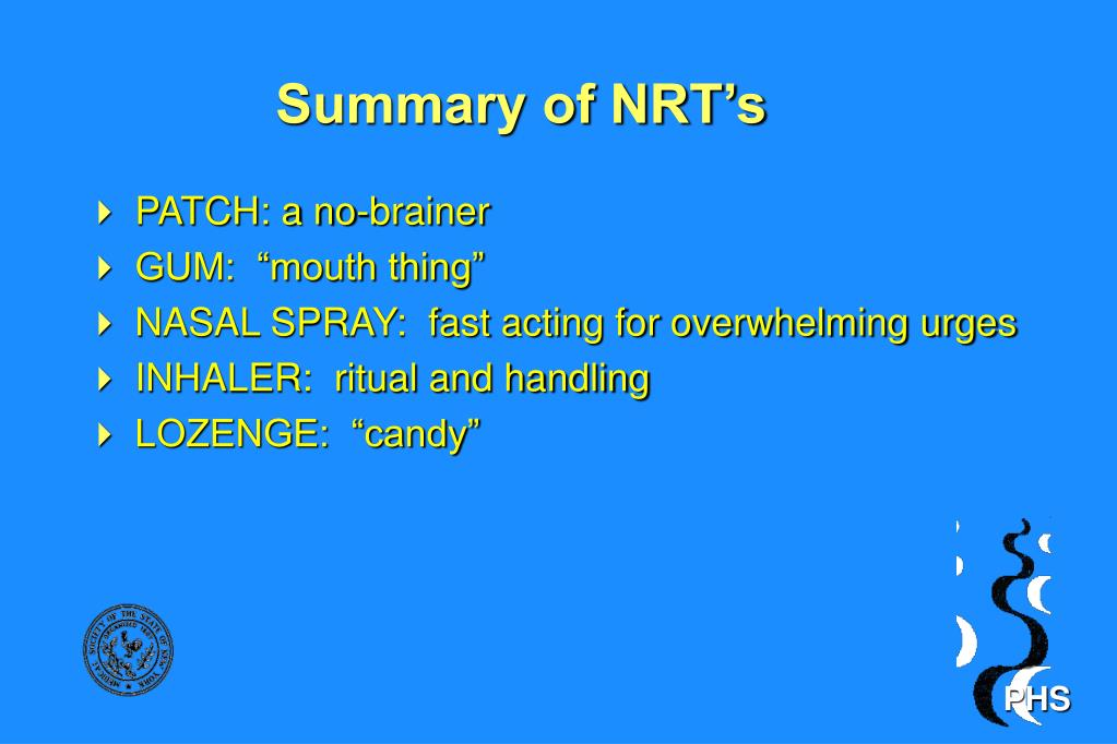 Summary of NRT's