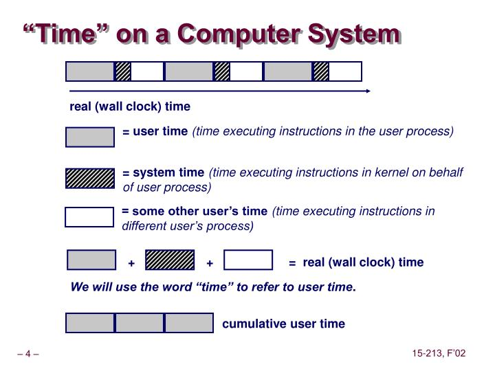 """""""Time"""" on a Computer System"""