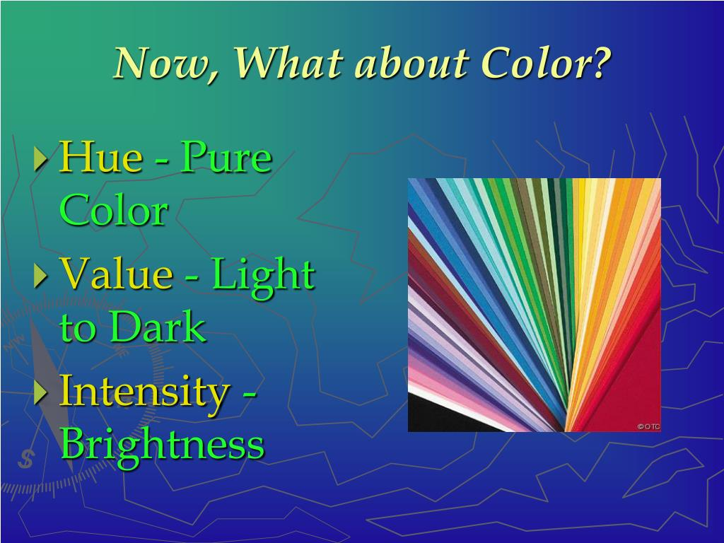 Now, What about Color?