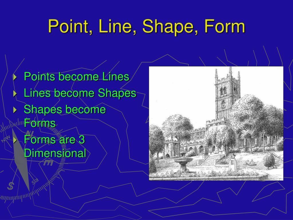 Point, Line, Shape, Form