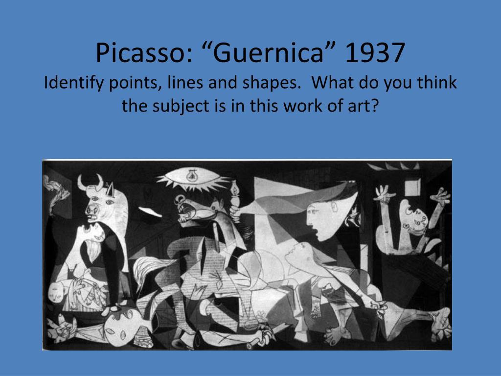 """Picasso: """"Guernica"""" 1937"""