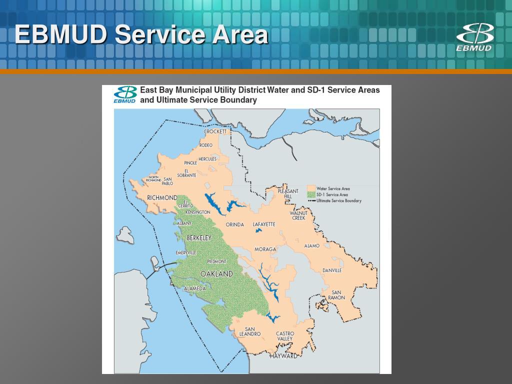 EBMUD Service Area