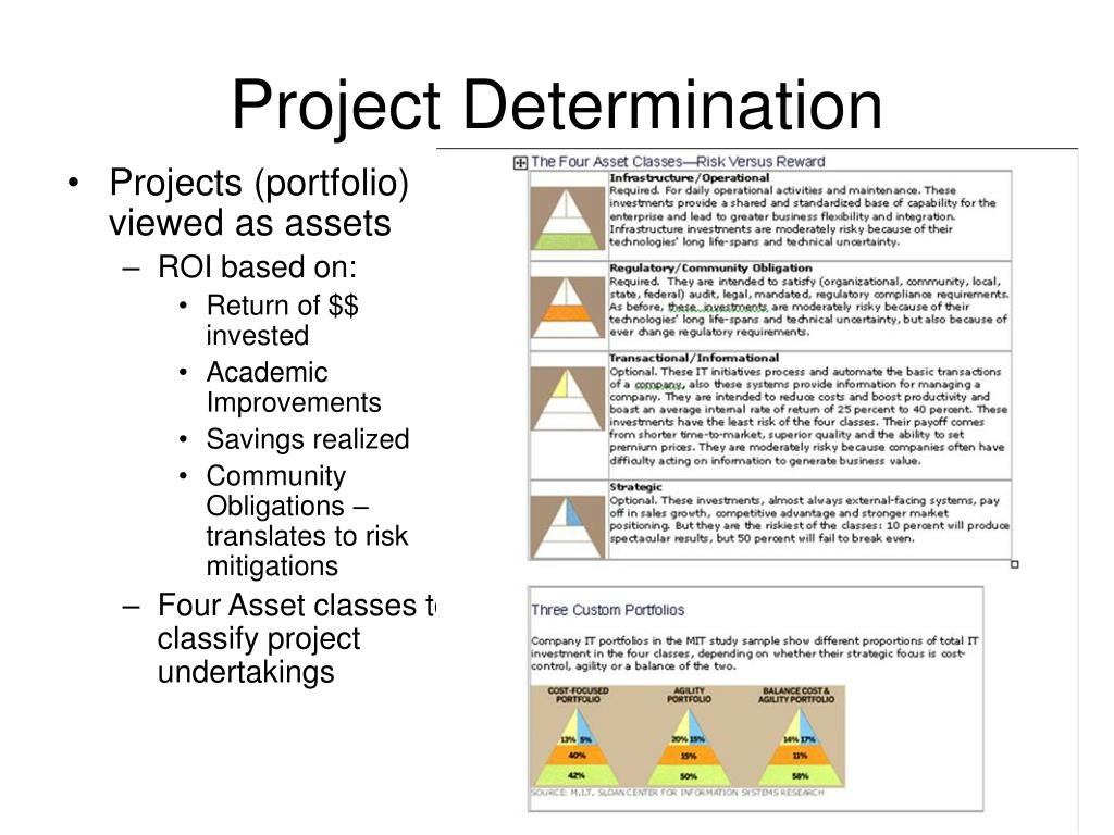 Project Determination