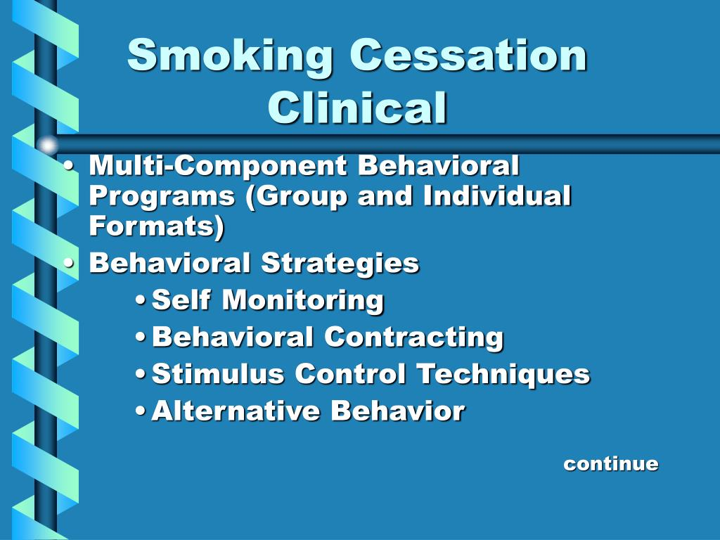 Smoking Cessation